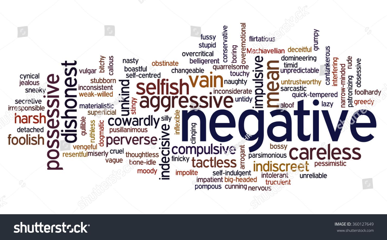 aggression as a negative
