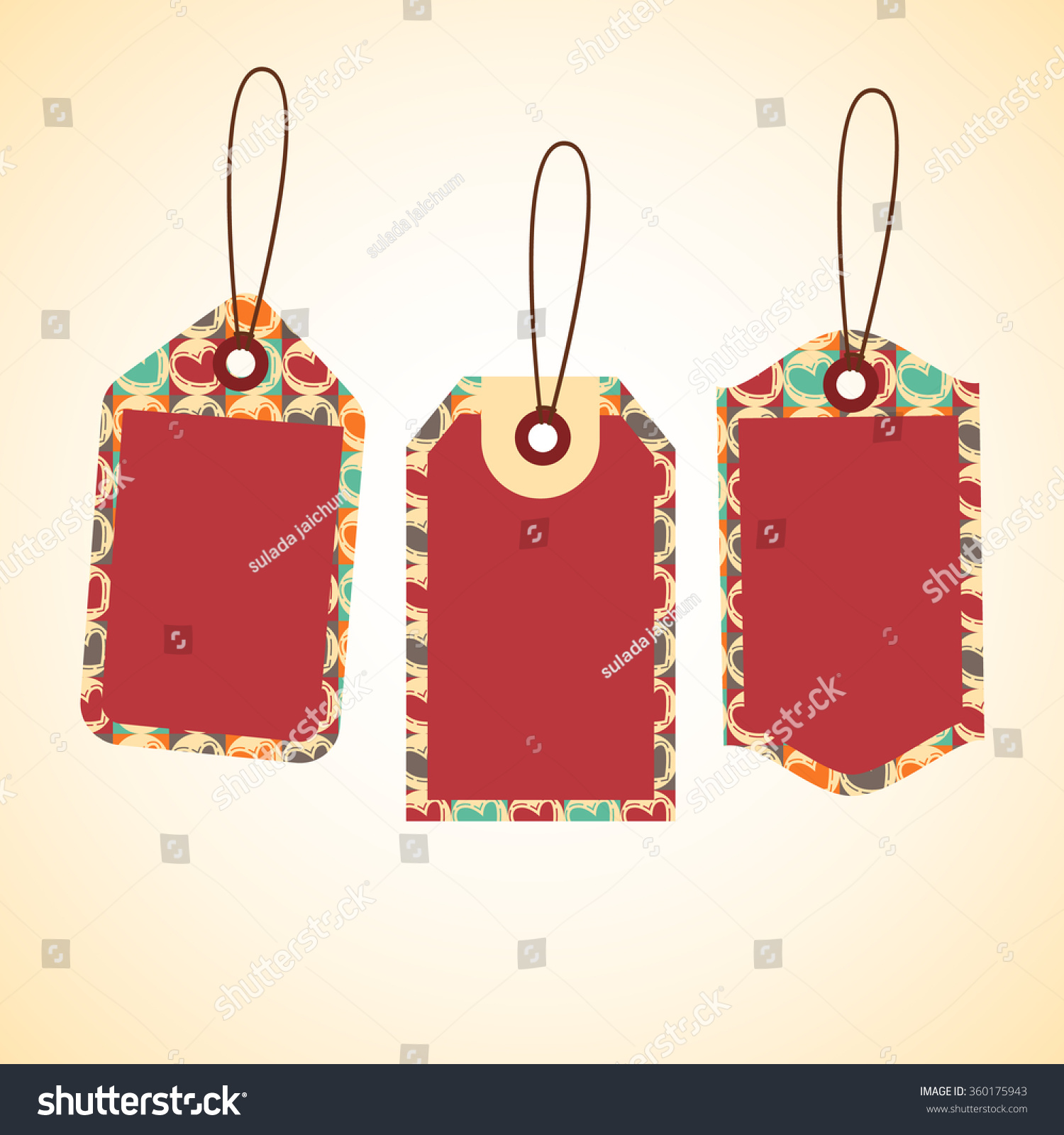 Price Tag Design Set Price Tags Stock Vector 360175943 - Shutterstock