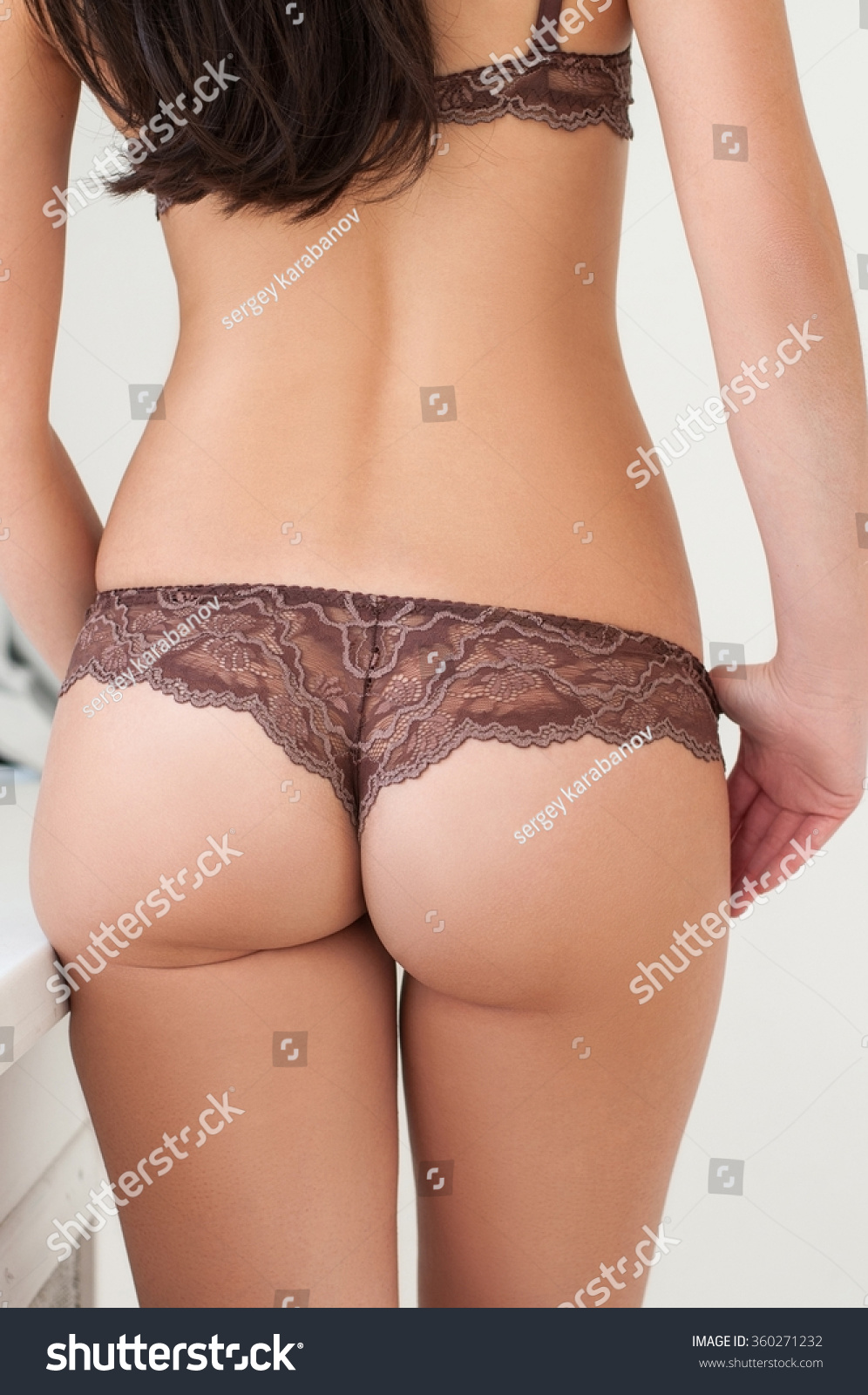 Ass Cute Pics female back lingerie cute ass openwork stock photo (edit now