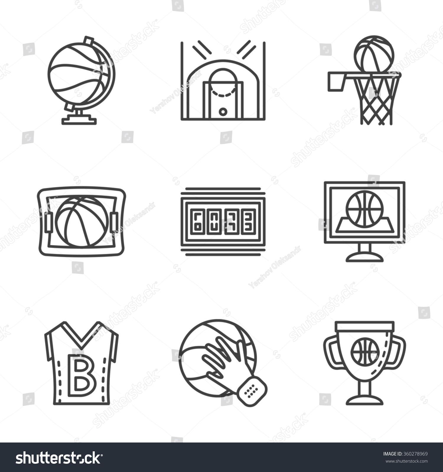 Symbols of basketball choice image symbol and sign ideas symbols basketball game competitive sport flat stock illustration symbols of basketball game competitive sport flat black biocorpaavc