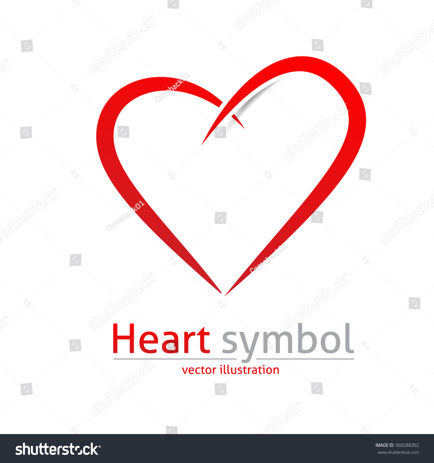 Heart. Logo, Icon Or Sign. Vector Design. Love Abstract ...