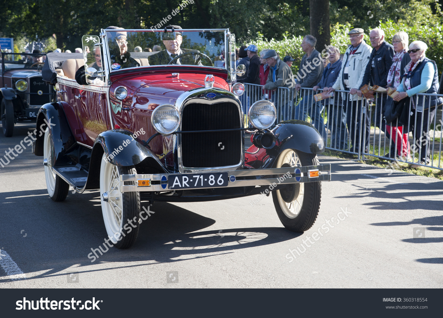 Nostalgia Country Old Timer Cars Countryside Stock Photo (100% Legal ...