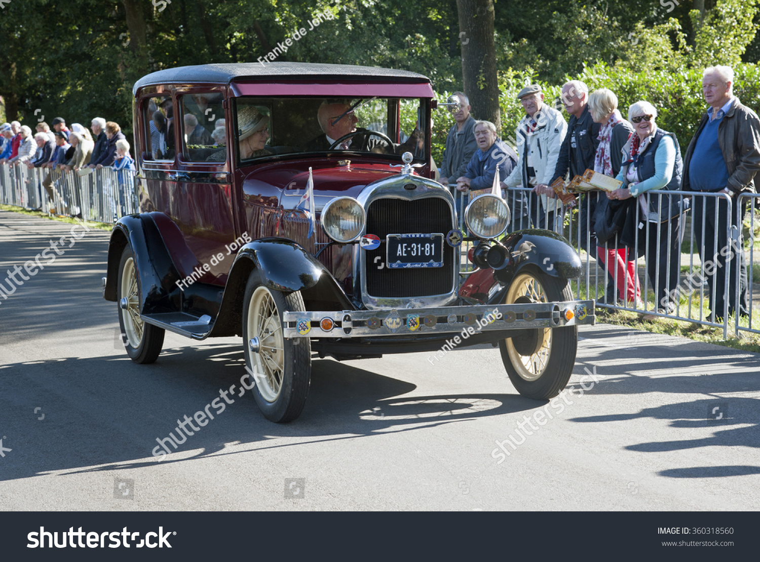 Nostalgia Country Old Timer Cars Countryside Stock Photo 360318560 ...