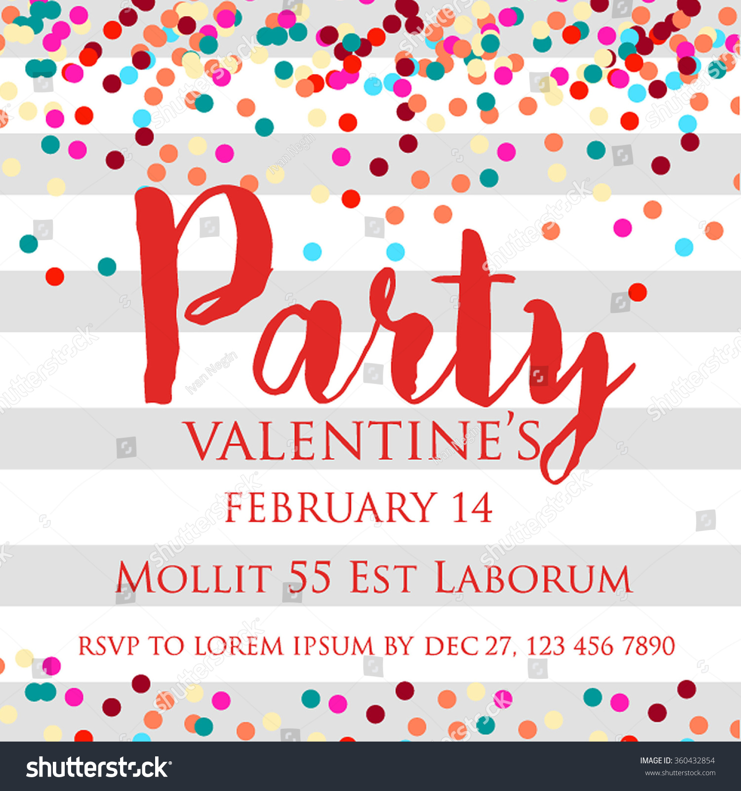 Valentines Party Invitations Gallery - Party Invitations Ideas