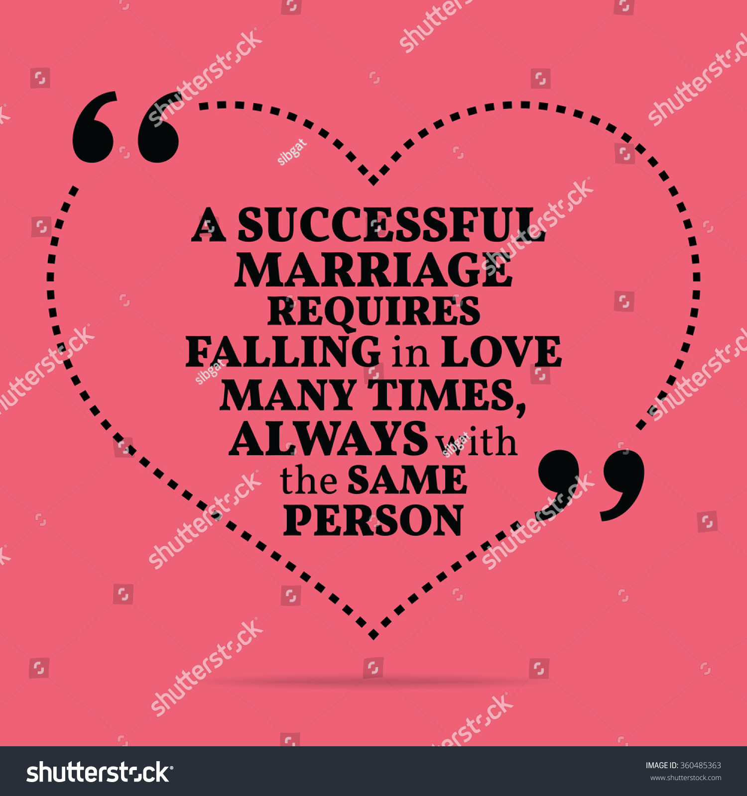 Inspirational Love Marriage Quote Successful Marriage