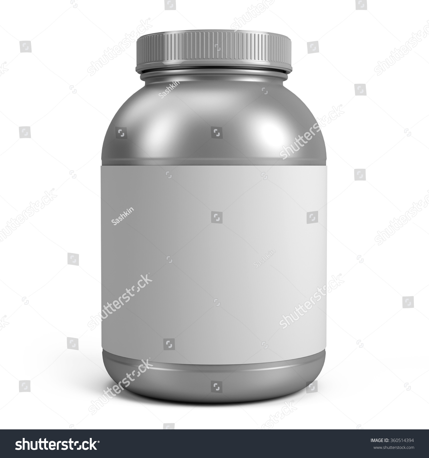 It's just a picture of Geeky White Label Protein Powder