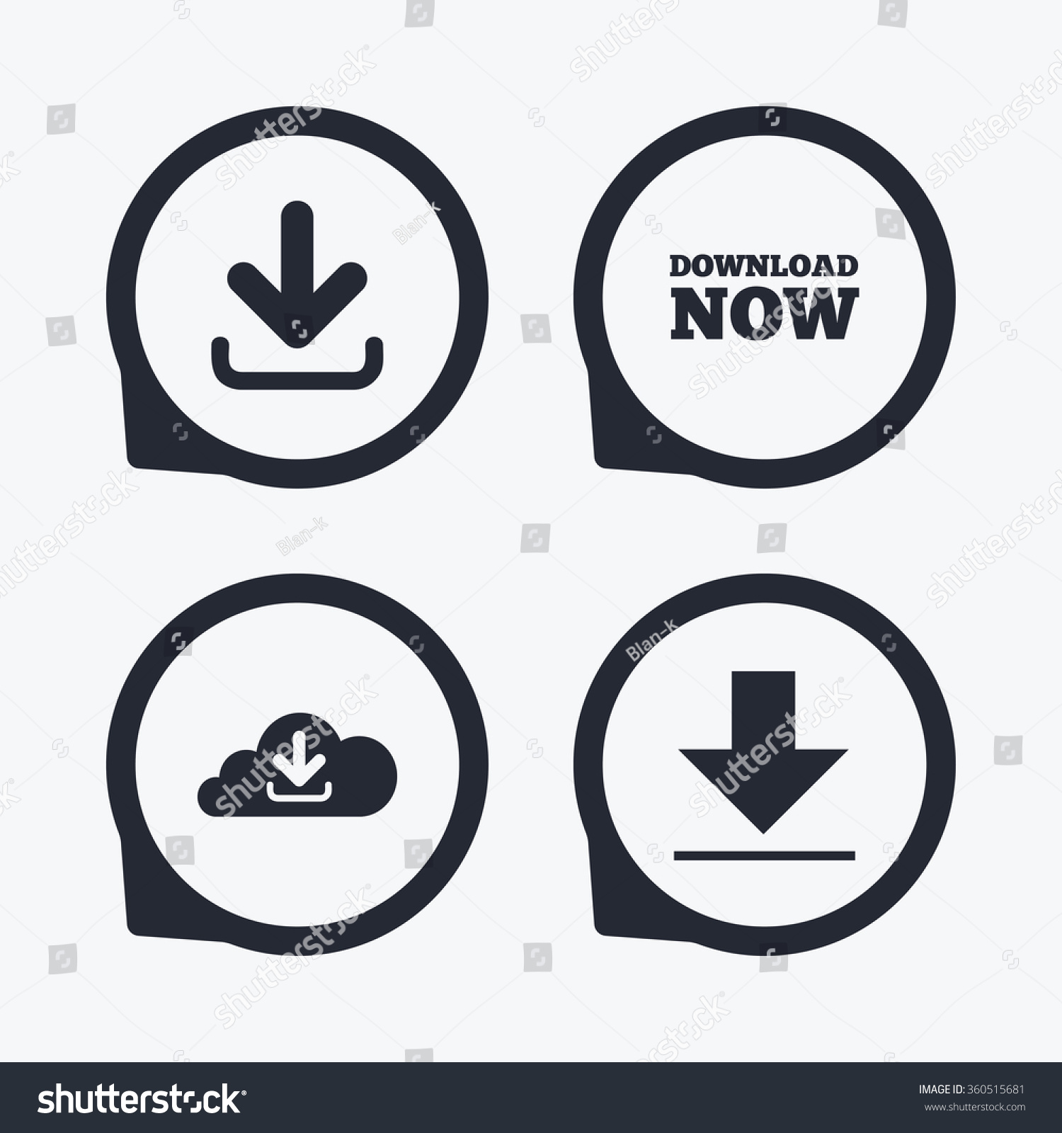 Download now icon upload cloud symbols stock illustration upload from cloud symbols receive data from a remote storage signs biocorpaavc Gallery