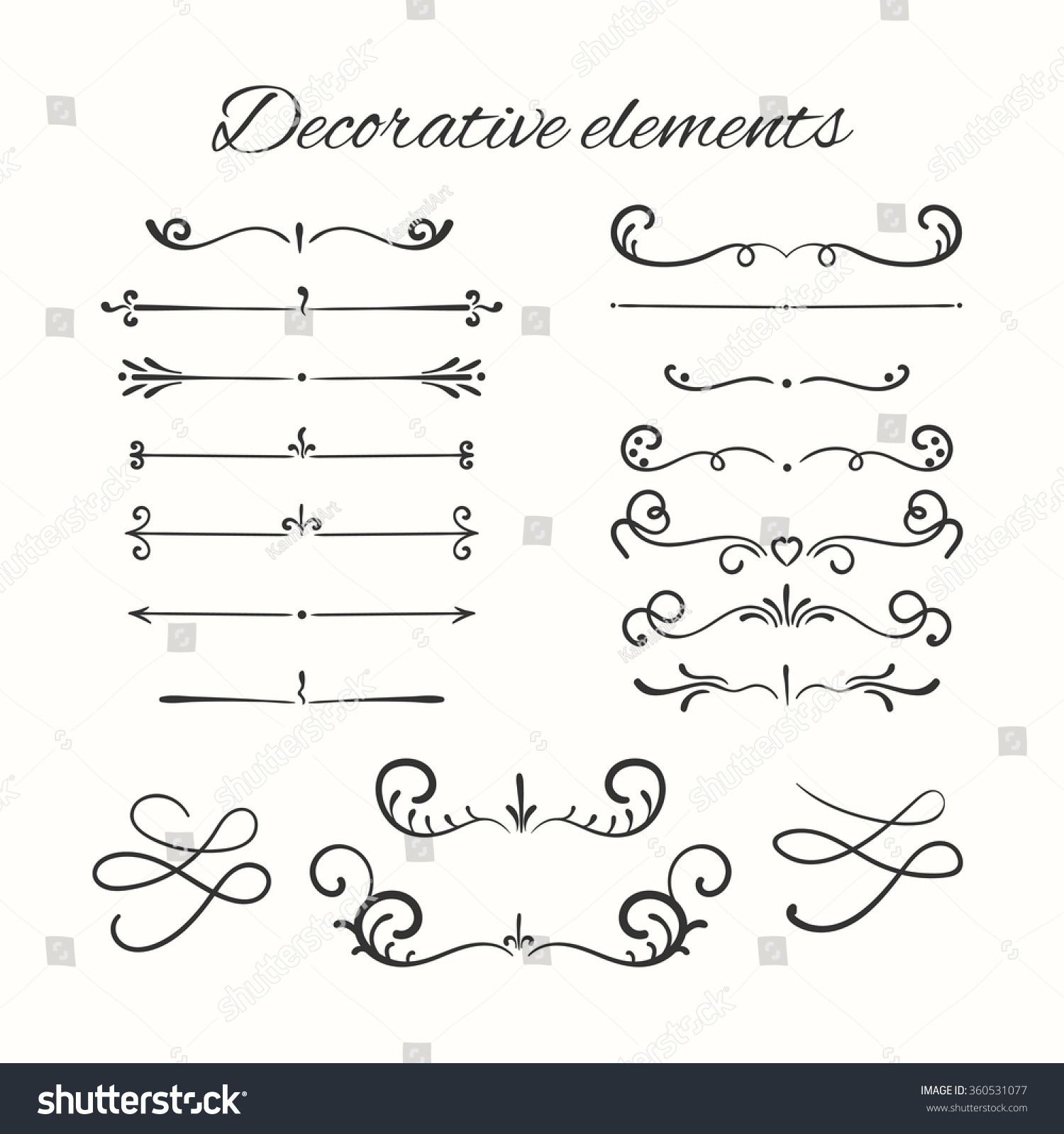 divider set vector - photo #10