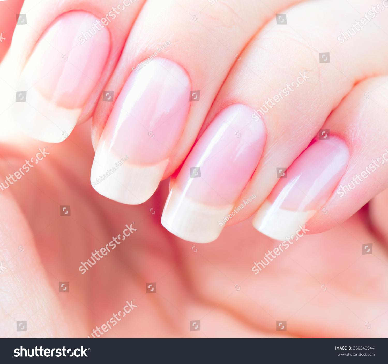 Beautiful Healthy Natural Nails Beauty Long Stock Photo (Royalty ...
