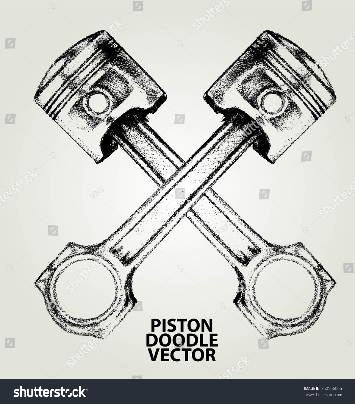 ... Engine pistons tattoo design stock vectors & vector clip art