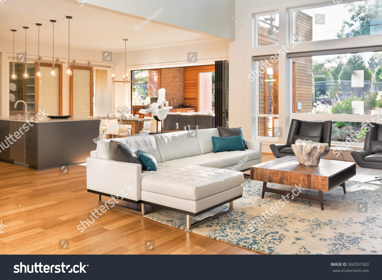 Beautiful living room interior new luxury stock photo for House beautiful living rooms photos