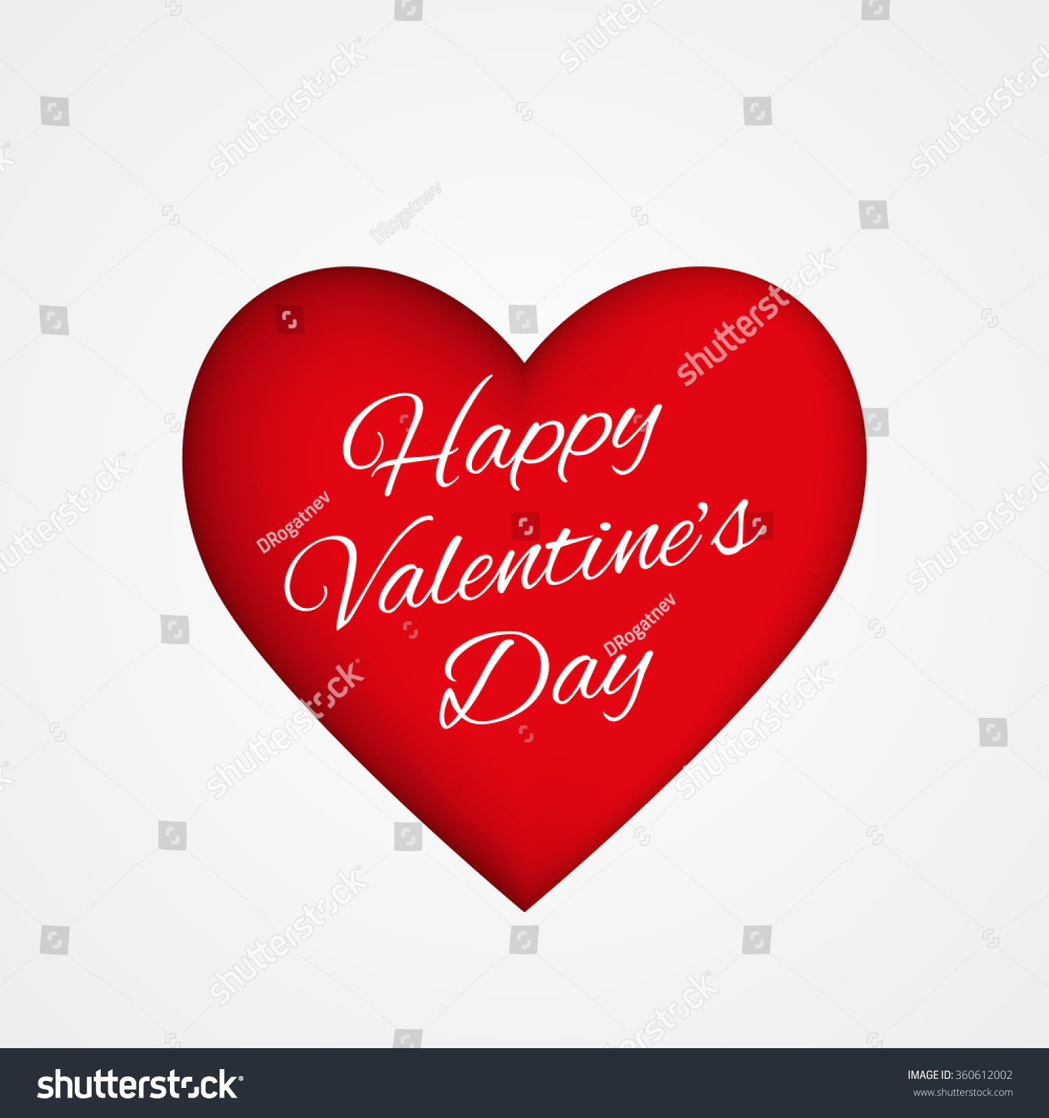Valentines Day Card Background With Heart Abstract Ez Canvas