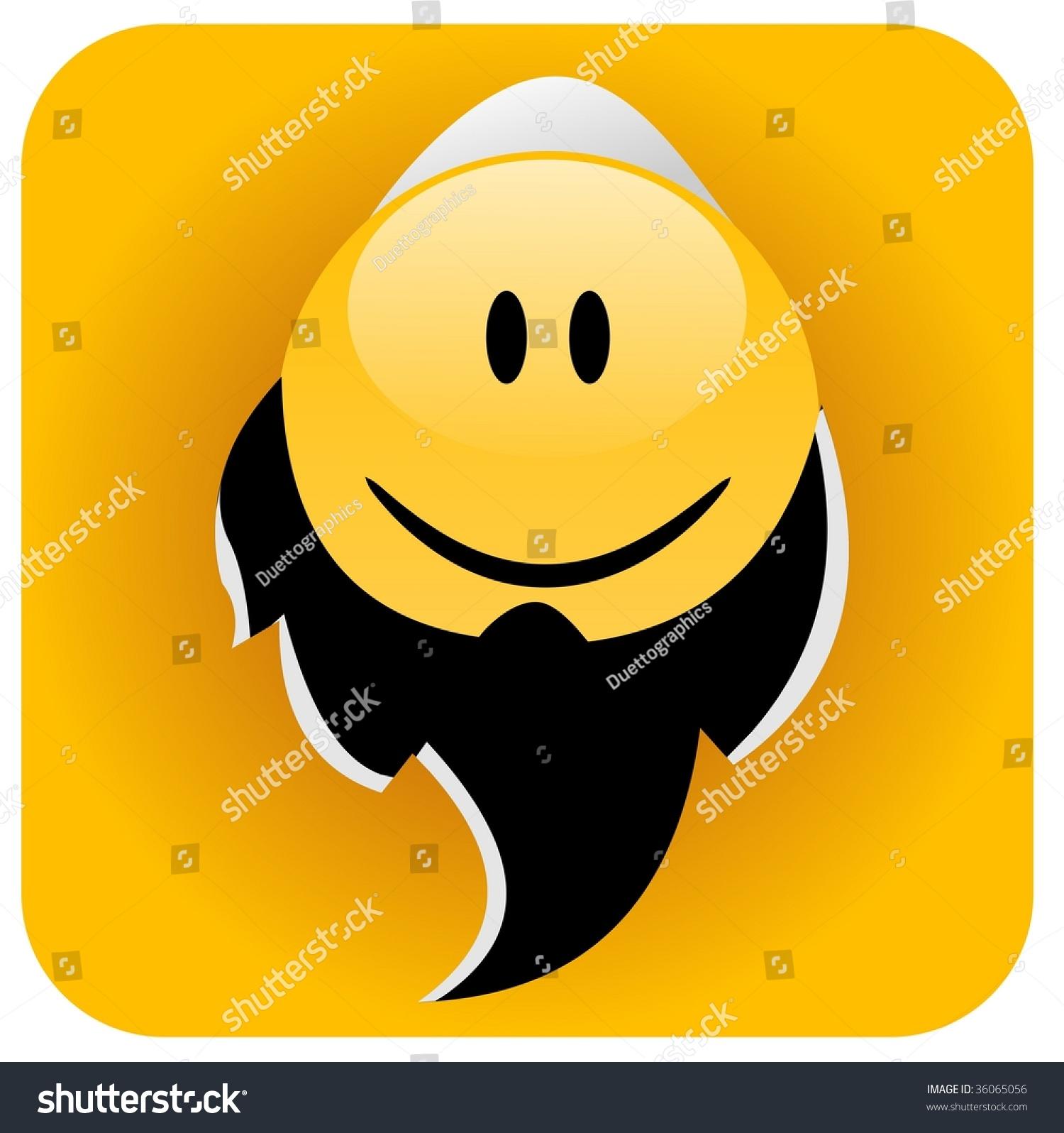 Muslim Smiley Man Stock Photo 36065056 : Shutterstock