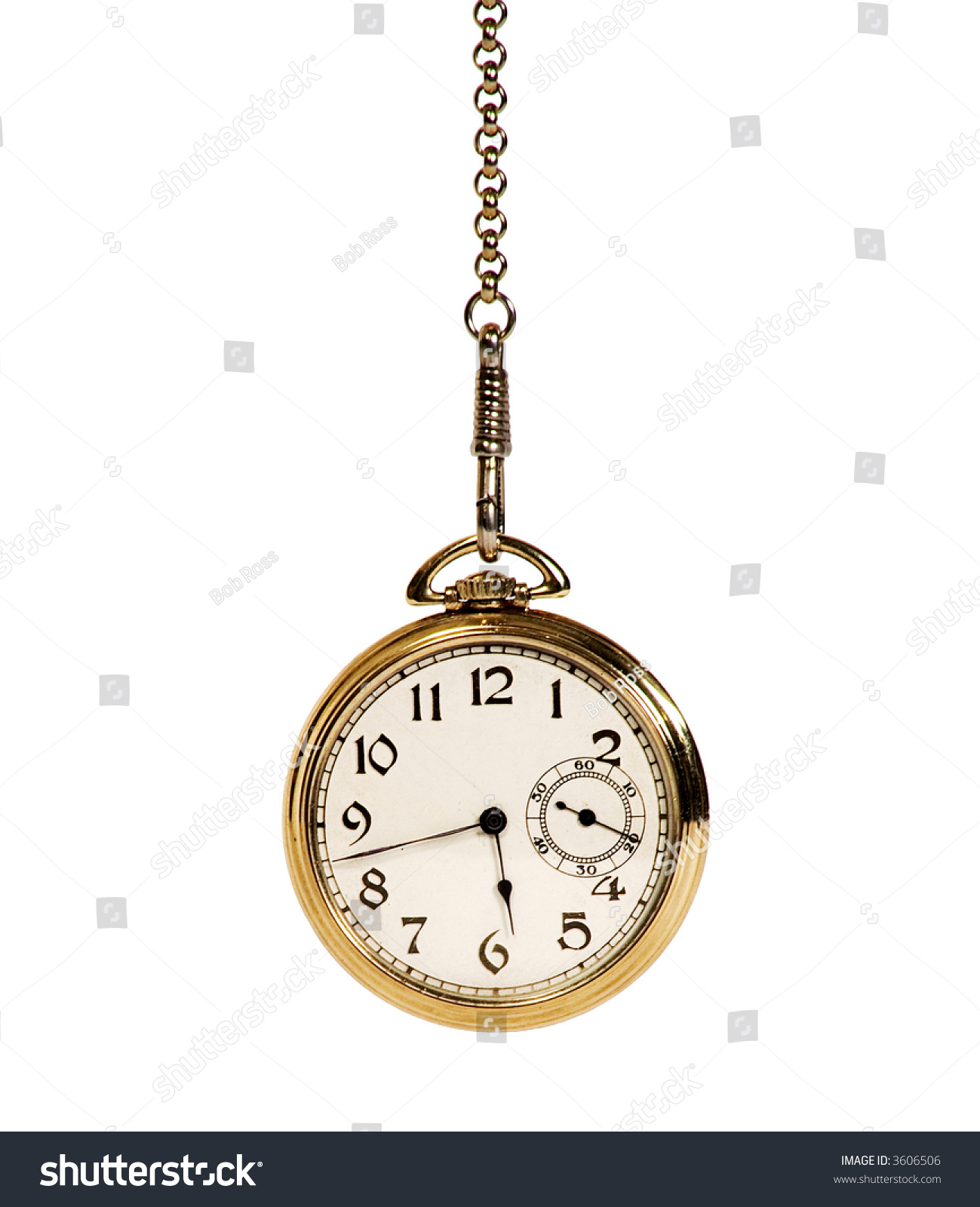 hanging pocket watch stock photo 3606506 shutterstock