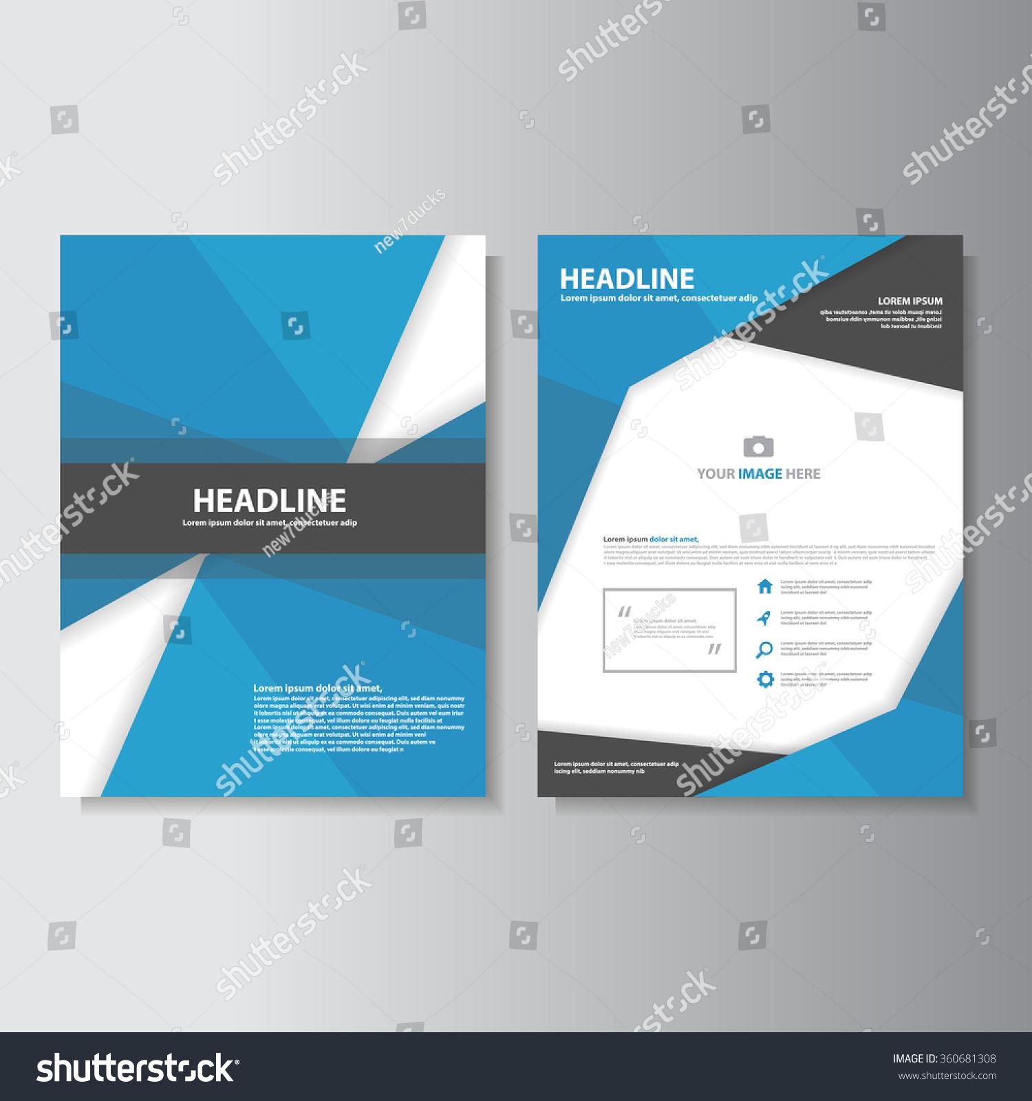 blue black brochure a flyer leaflet template set for marketing blue black brochure a4 flyer leaflet template set for marketing and advertising