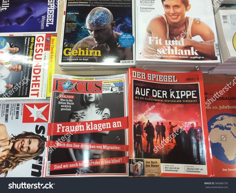 popular german magazines