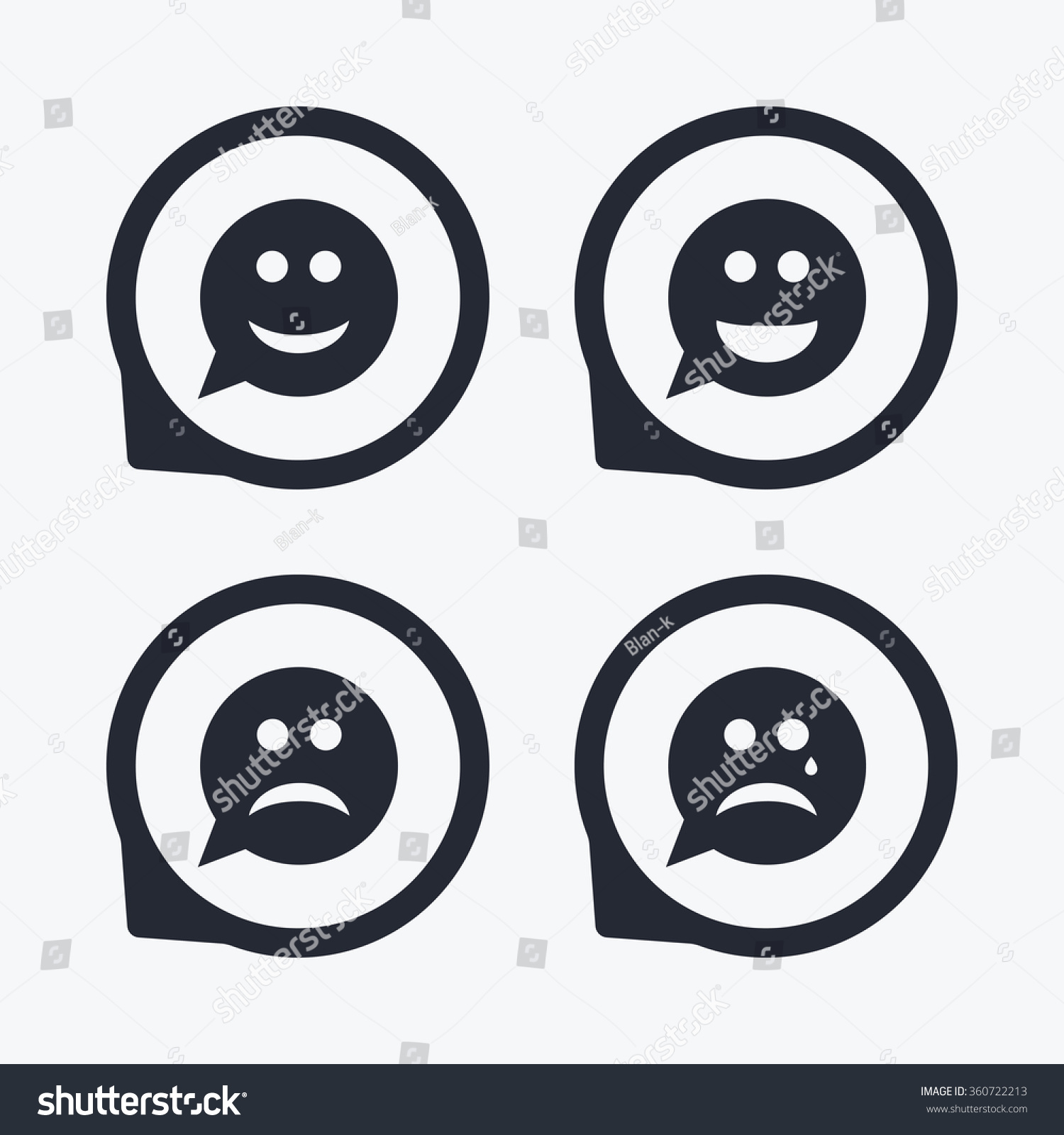 Crying Face Symbol