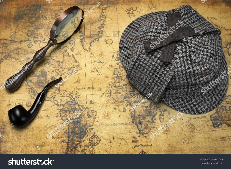 Sherlock Holmes Paper Deerstalker Hat Template on Behance