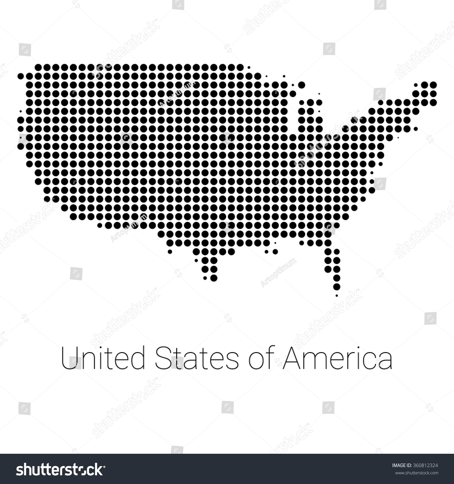 Us Map Logo Usa Map Icon Usa Flag Background Modern Logo Map - Us map logo