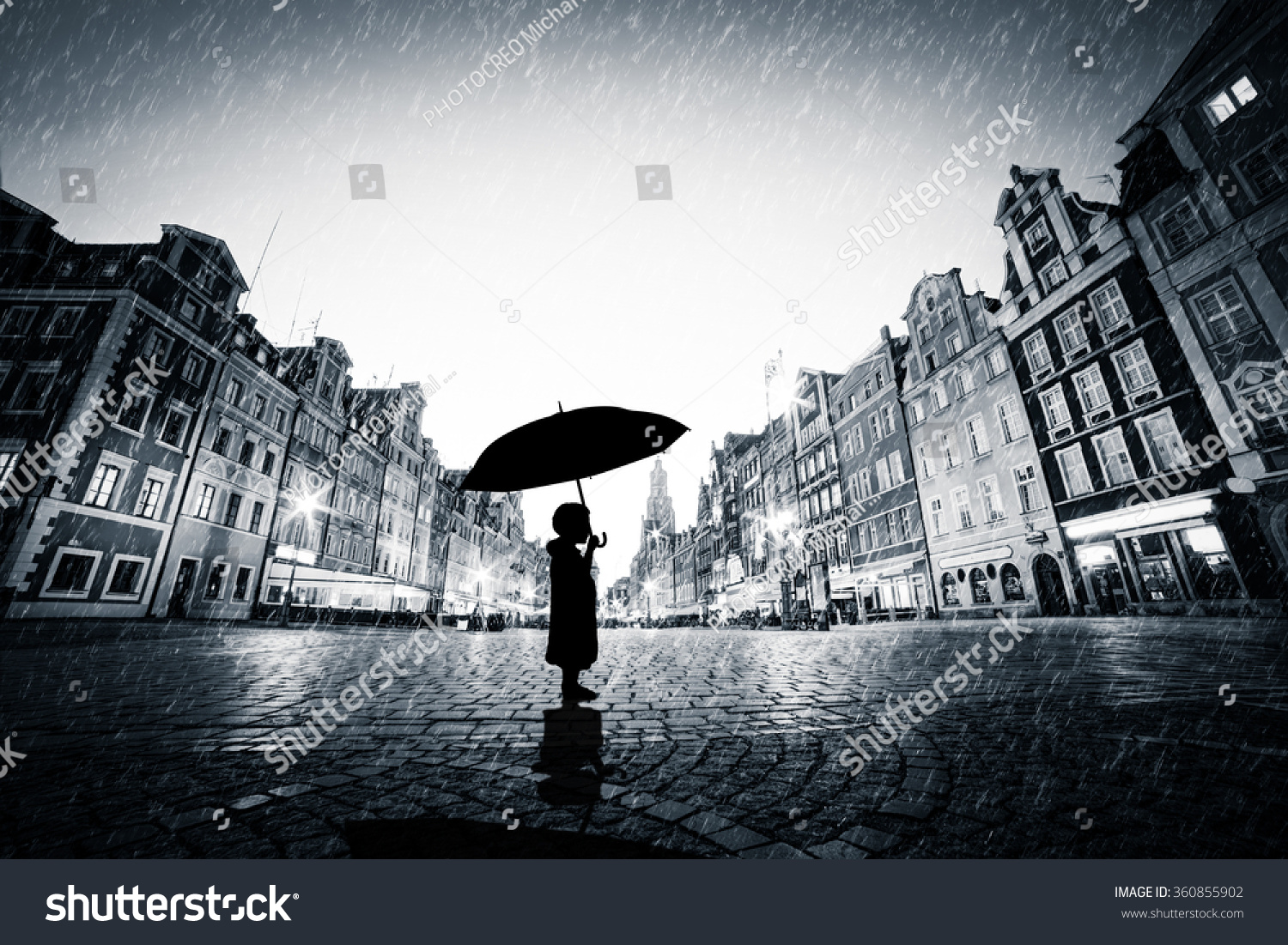 standing alone in the rain wwwpixsharkcom images