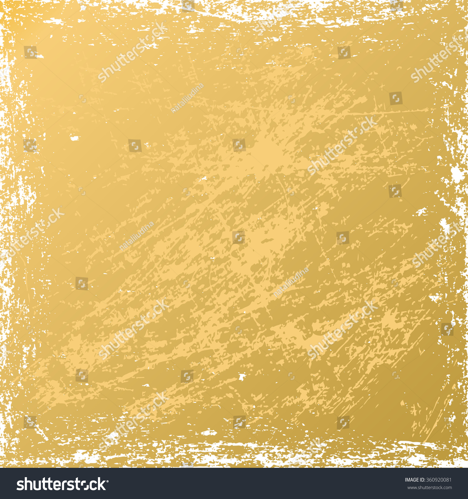 Vector Grunge Texture Scratch Gold Background Stock Vector ...