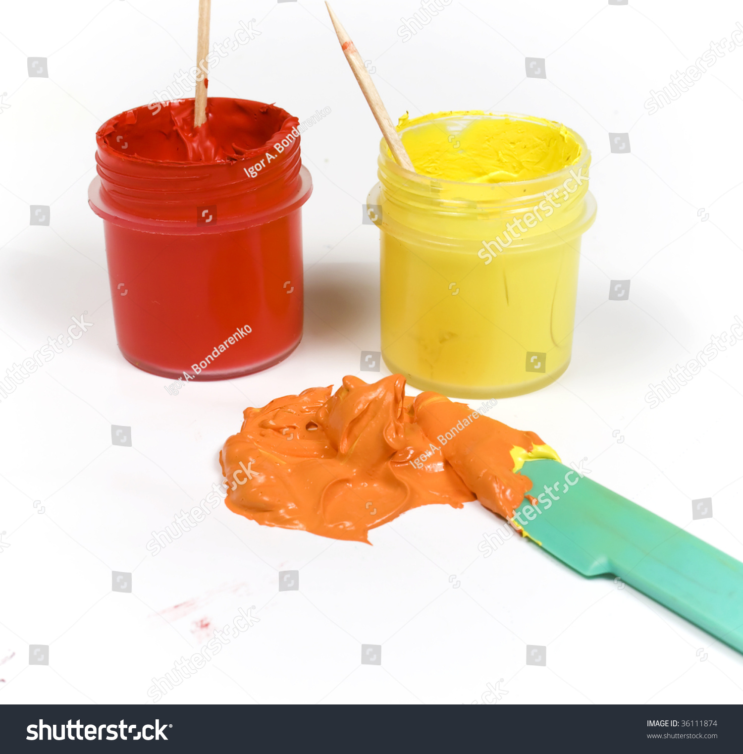 How do you make orange paint my web value for How to make yellow paint