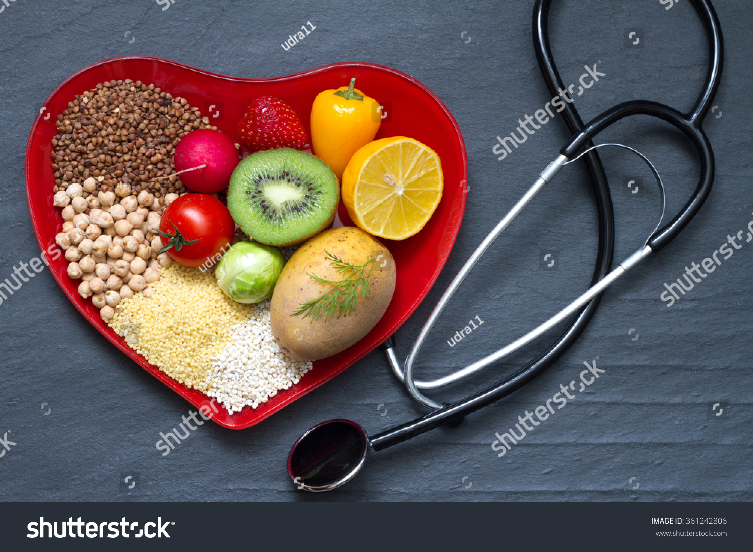 Healthy Food Heart Images