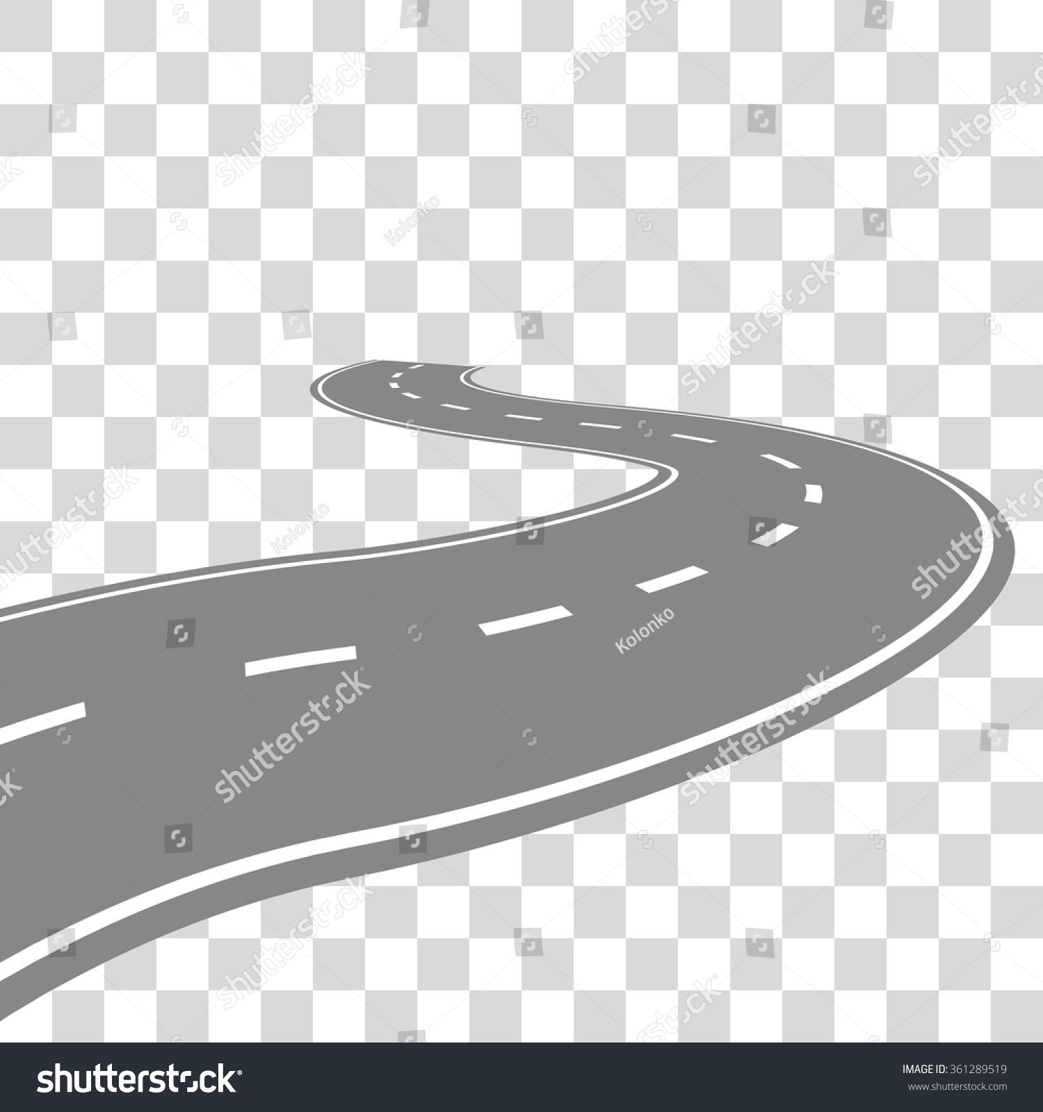 Cartoon Road Clip Art – Cliparts