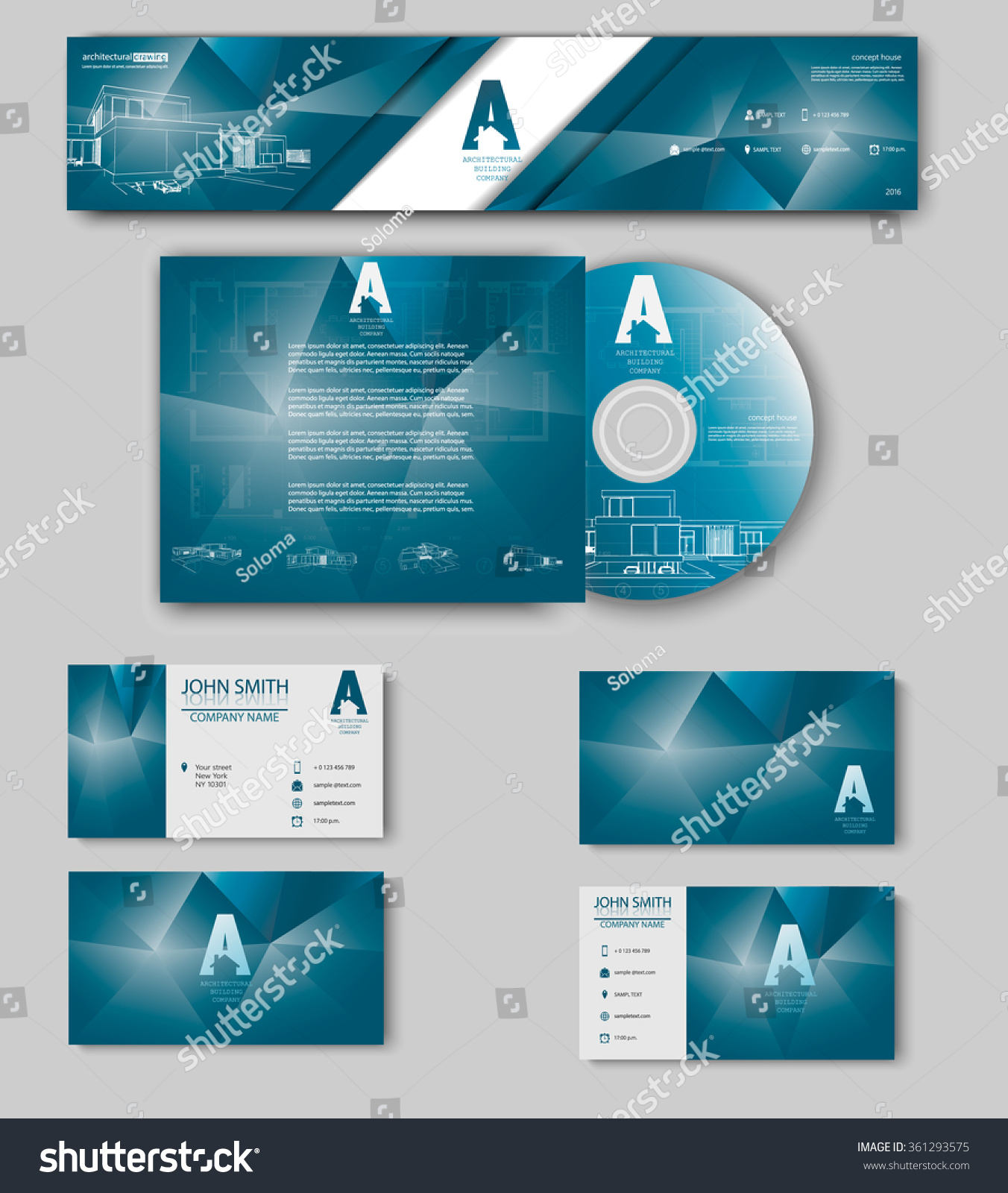 Business cards design blueprint sketch architectural stock vector business cards design with blueprint sketch for architectural company architectural background for architectural project malvernweather Images