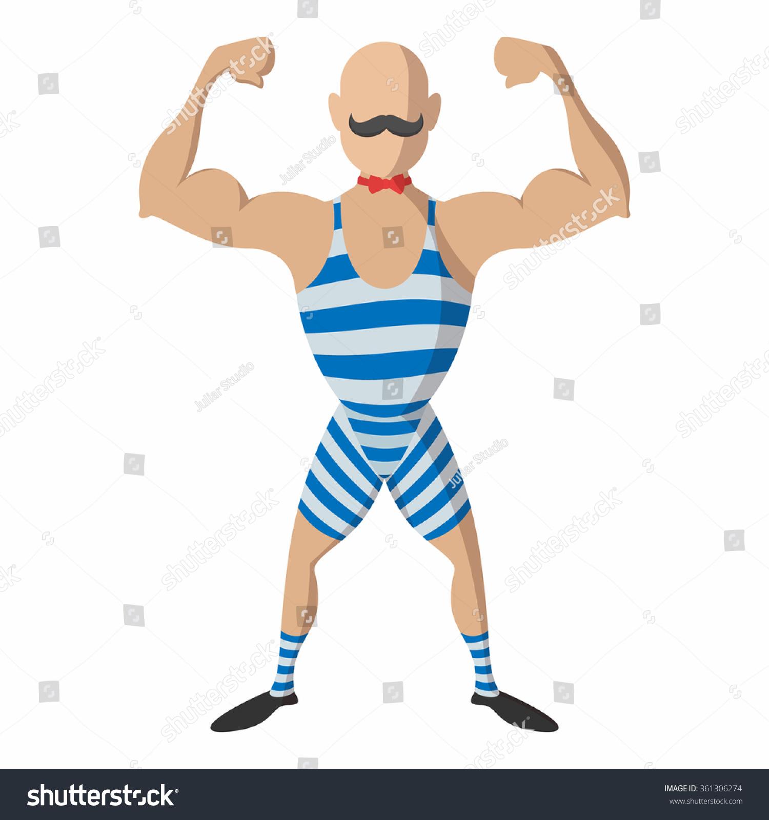 Vintage Strong Man 10