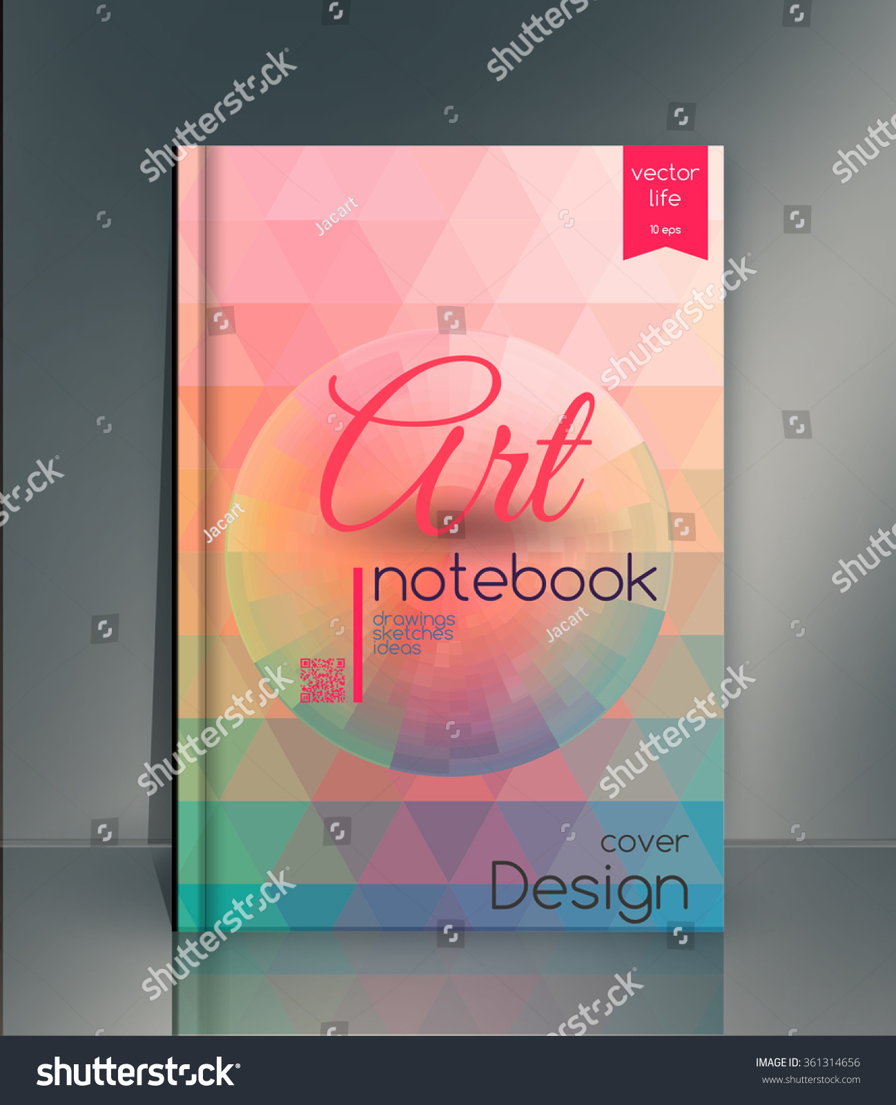 Fashion Book Cover Design ~ Royalty free cover design the modern concept of