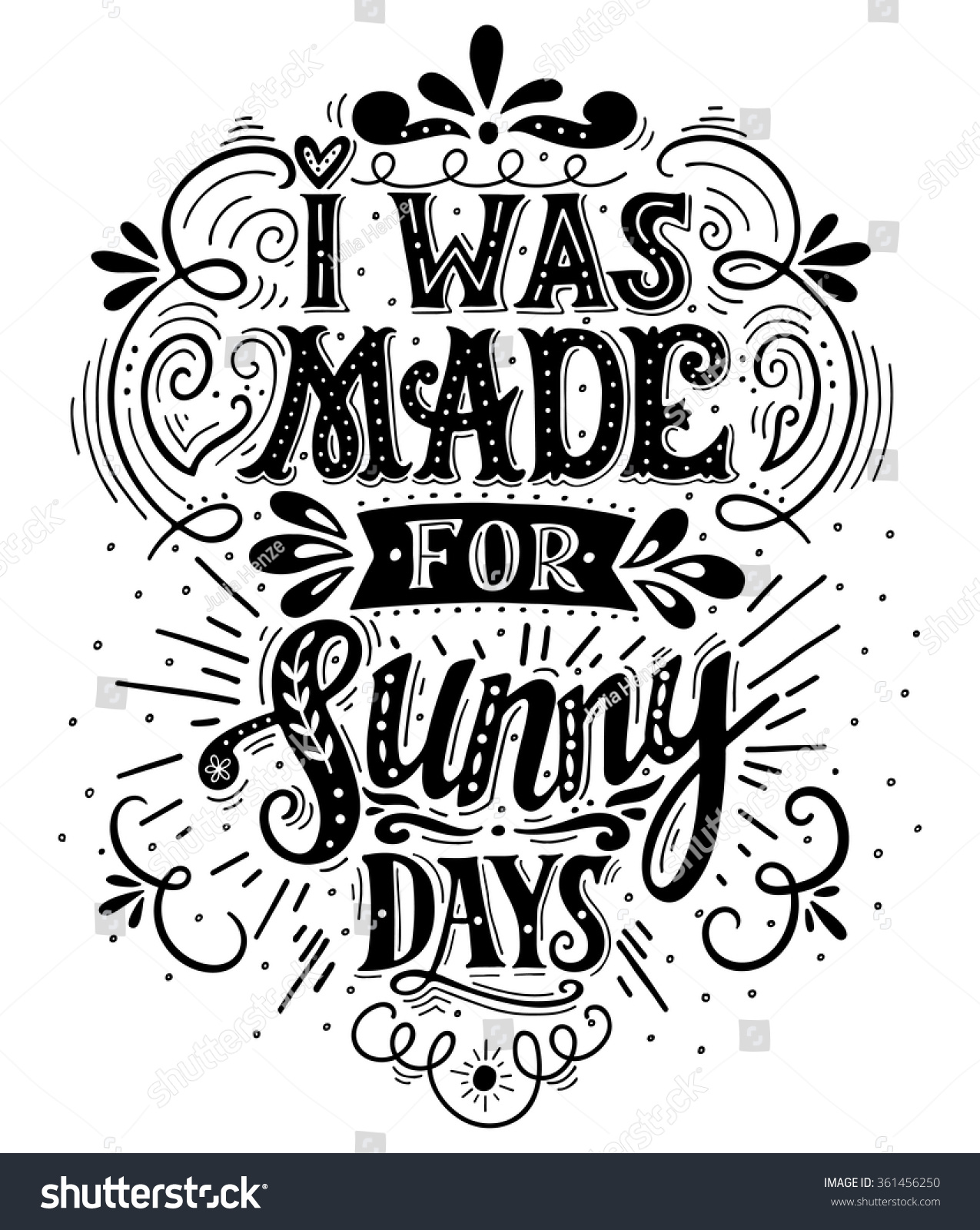 Royalty free i was made for sunny days … stock