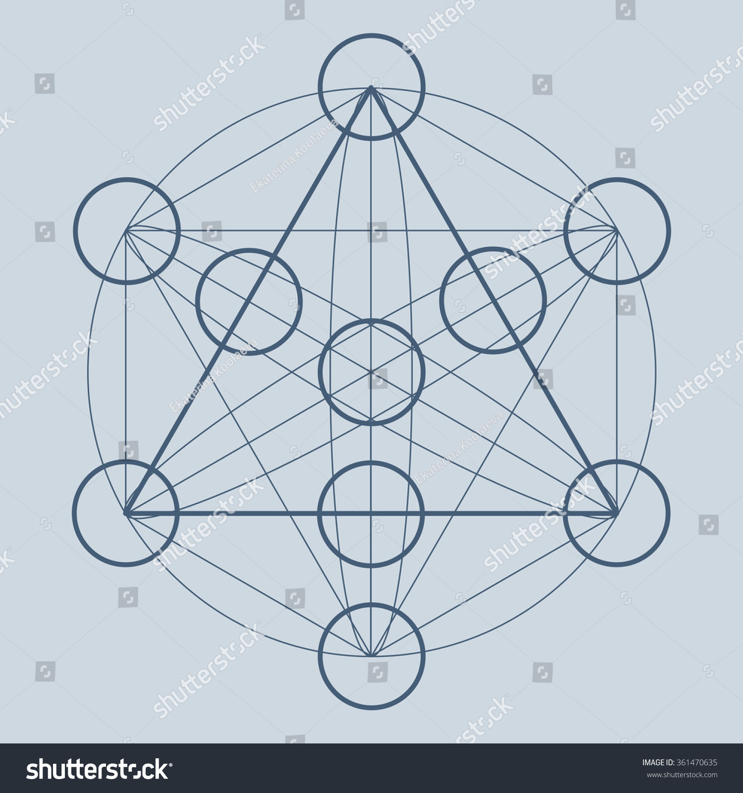 Sacred geometry symbol alchemy science religion stock vector sacred geometry symbol alchemy science religion philosophy astrology and spirituality themes biocorpaavc