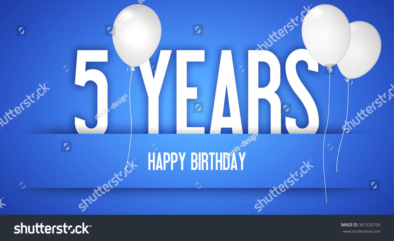 Happy Birthday Wishes Birthday Boy Personalised Stock Illustration Happy Birthday Wishes 5 Year Boy
