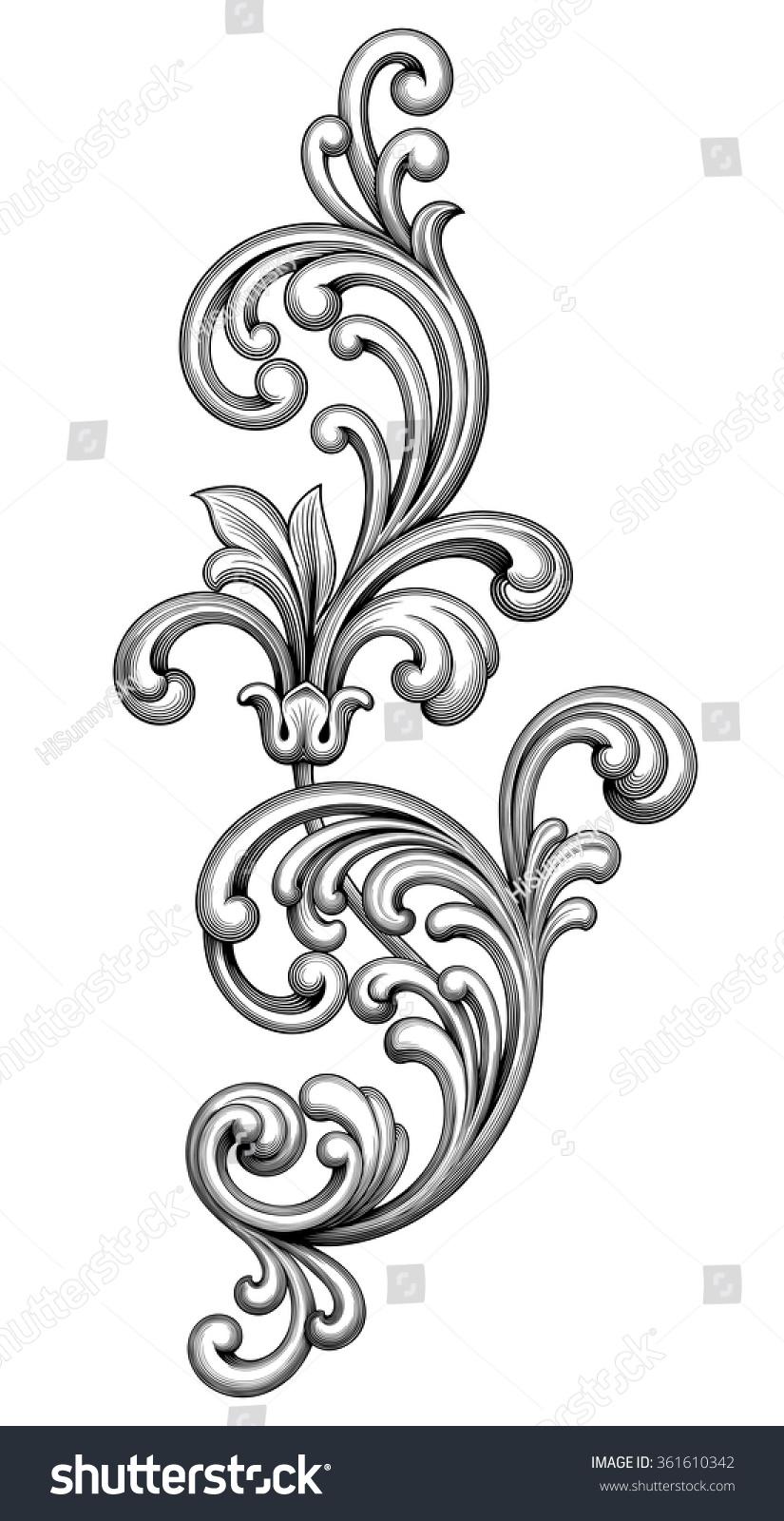 Victorian Lamp Post Clip Art