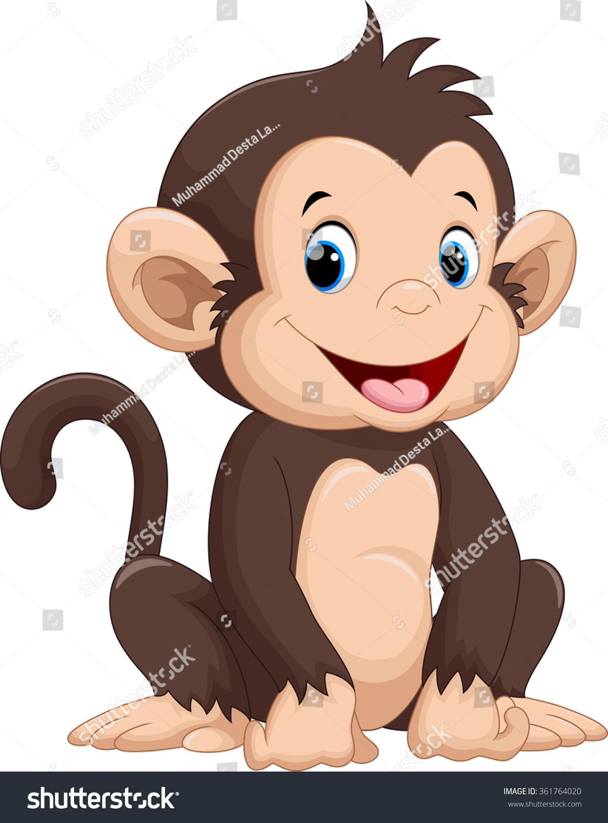 Gallery For gt Cartoon Monkeys Cute