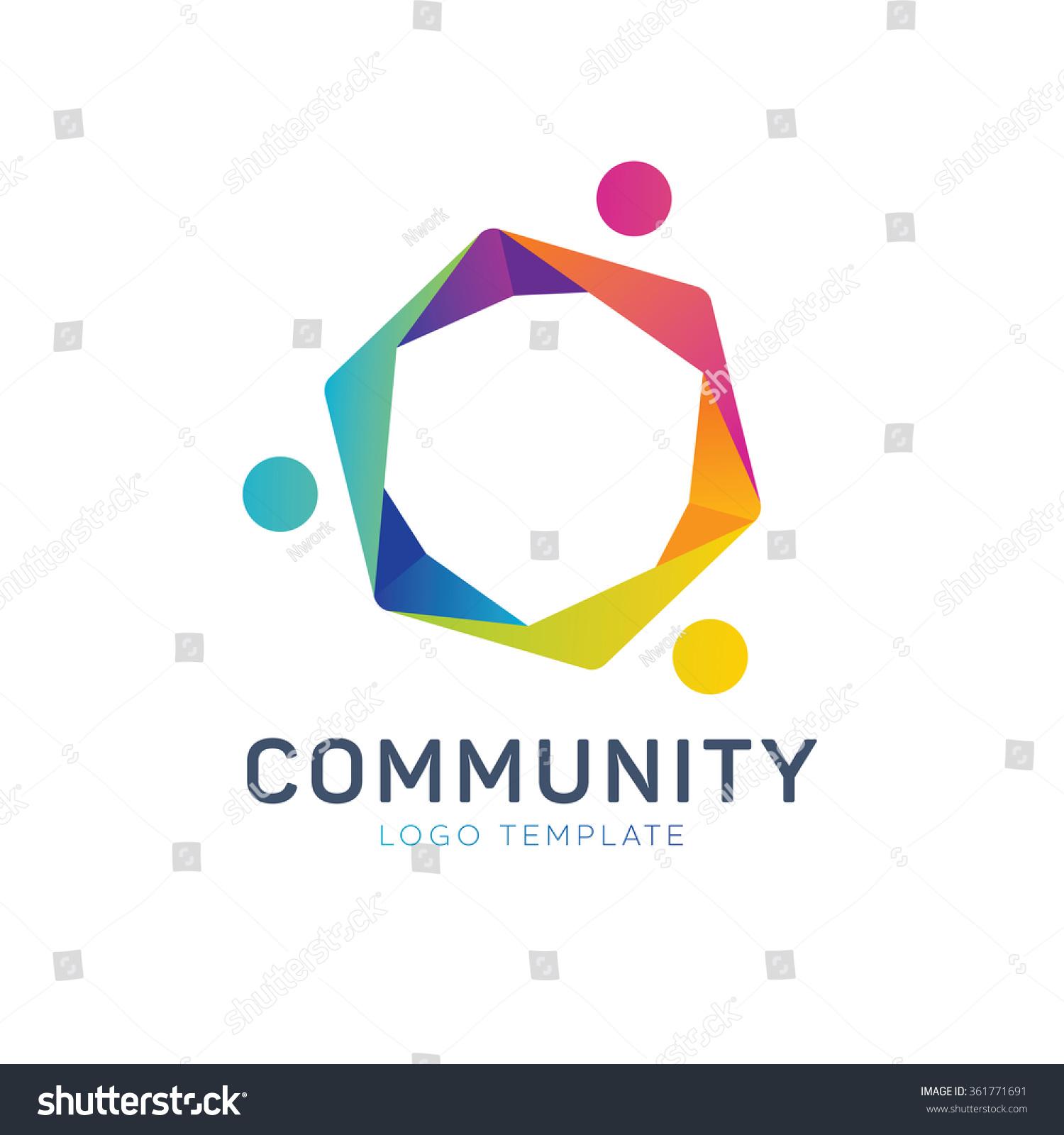 Community Logo Teamwork Logo Social Logo Stock Vector 361771691 ...