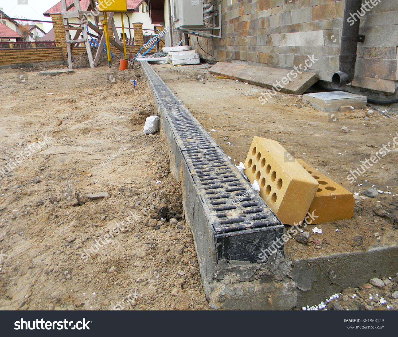 Rainwater drainage system installation drainage system for Rainwater drain problems