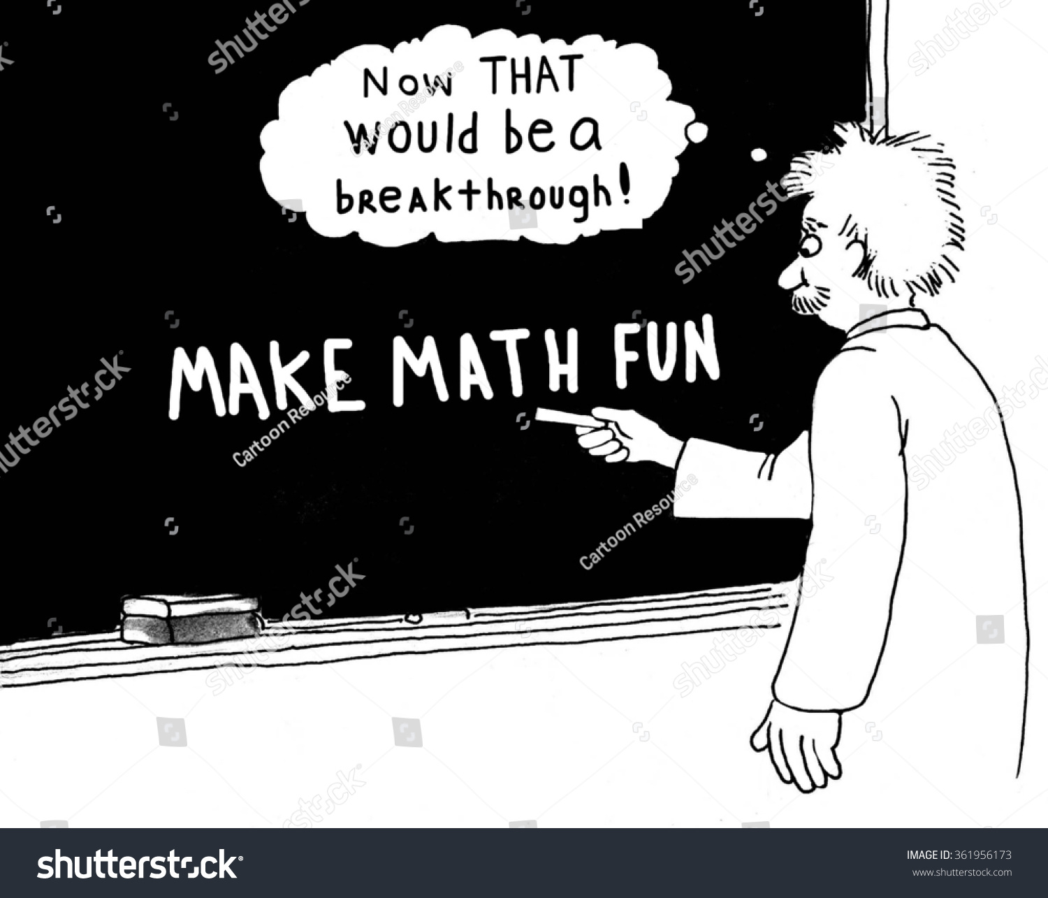 Education Cartoon About Math Stock Illustration 361956173 - Shutterstock