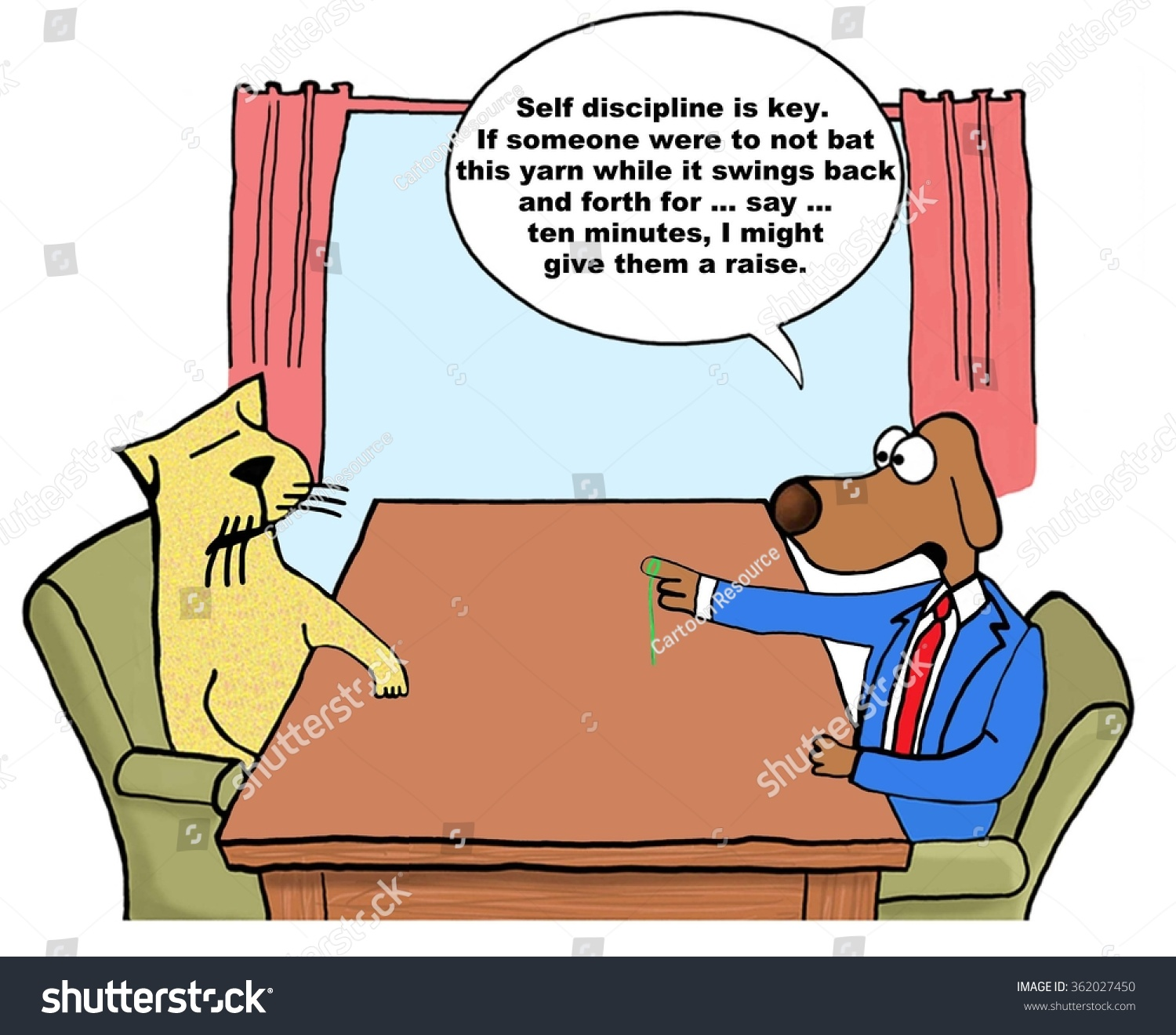 business cartoon about salary increase boss stock illustration business cartoon about salary increase the boss dog is tormenting the worker cat if