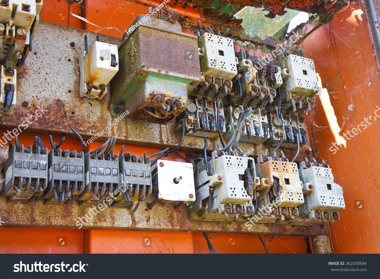Old Electrical Panel Abandoned Factory Stock Photo (Edit Now ... on