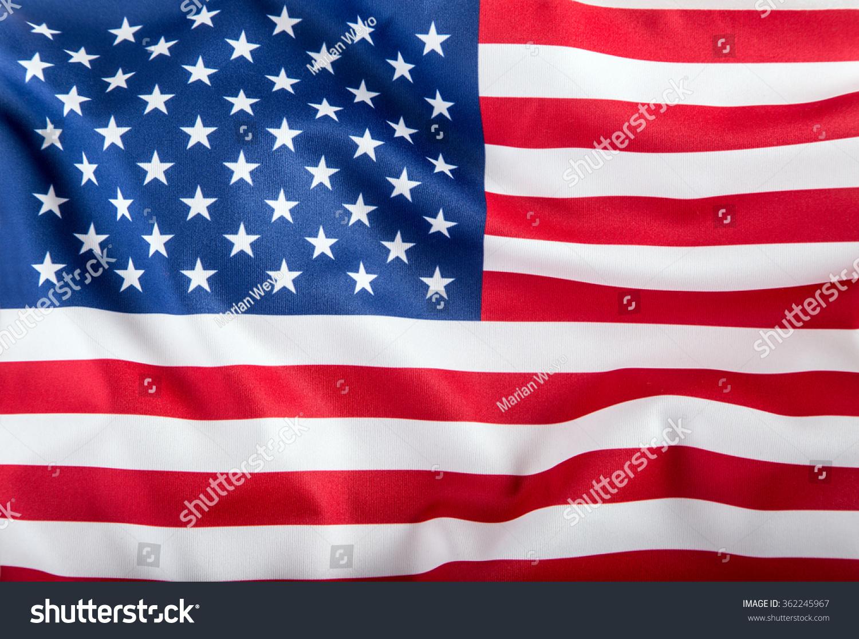 Usa Flag American Flag American Flag Stock Photo 362245967