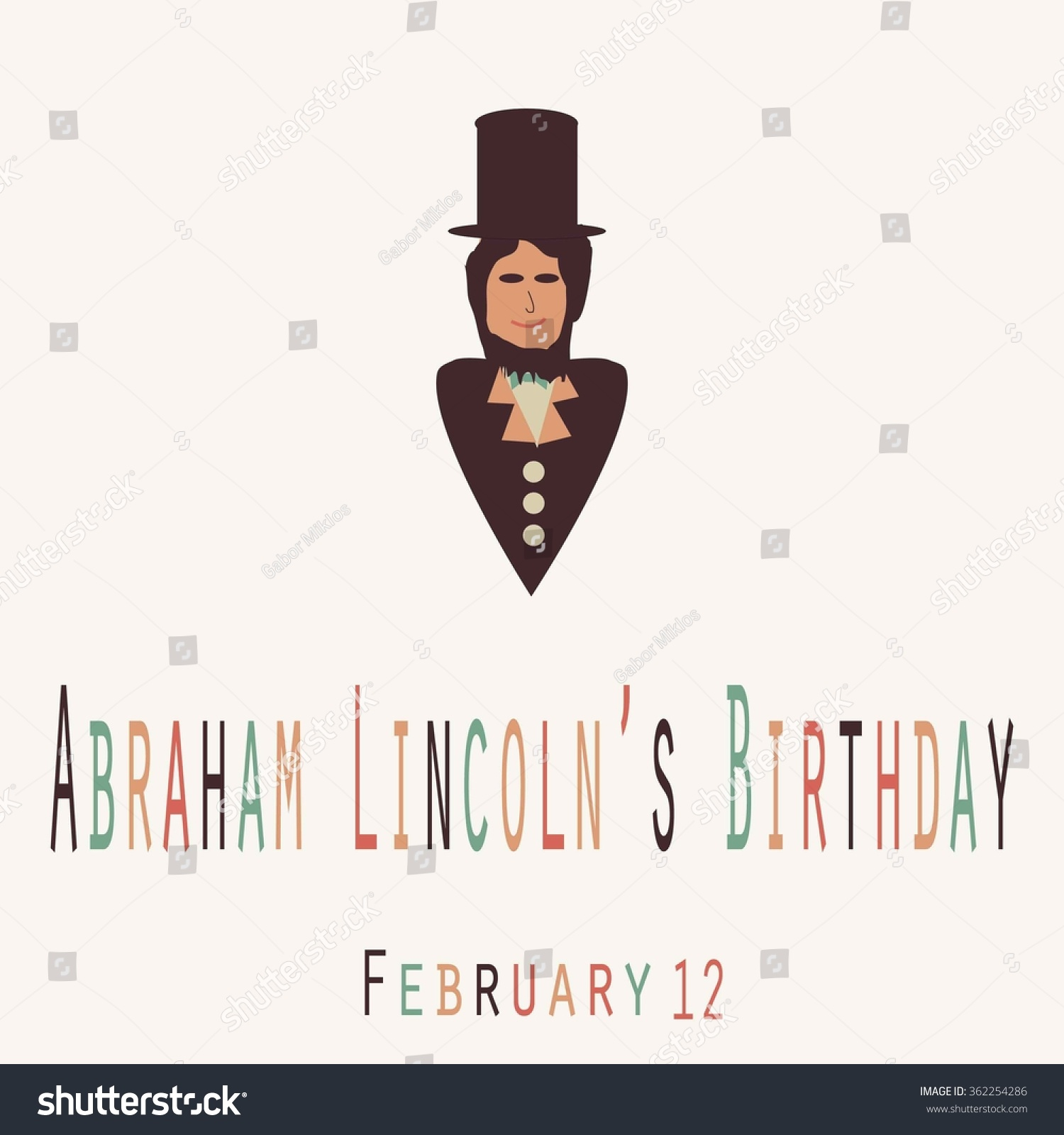 Abraham Lincoln Birthday Clip Art abraham lincoln's birthday - funny ...