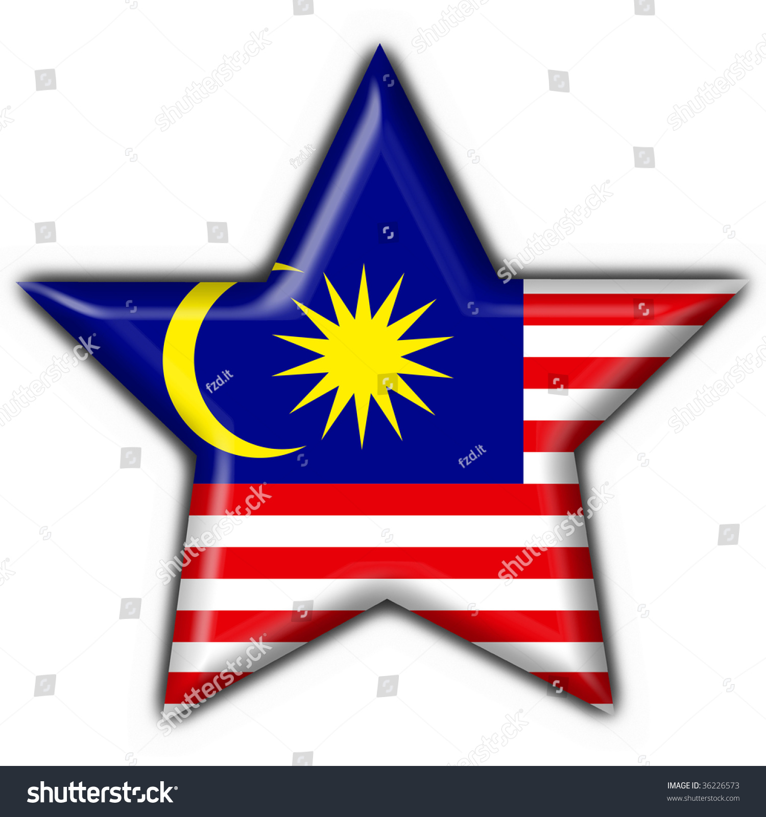 clipart malaysia flag-#20