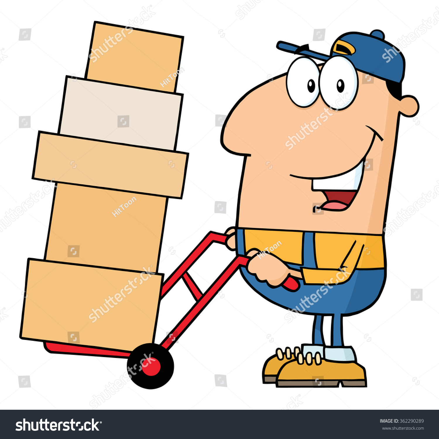 clipart delivery man - photo #50