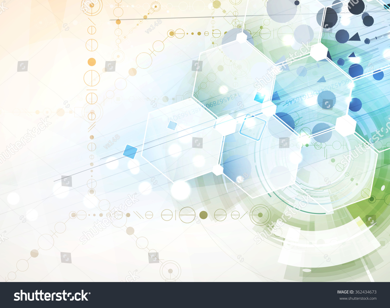 Scientific Future Technology Business Presentation Flyer ...