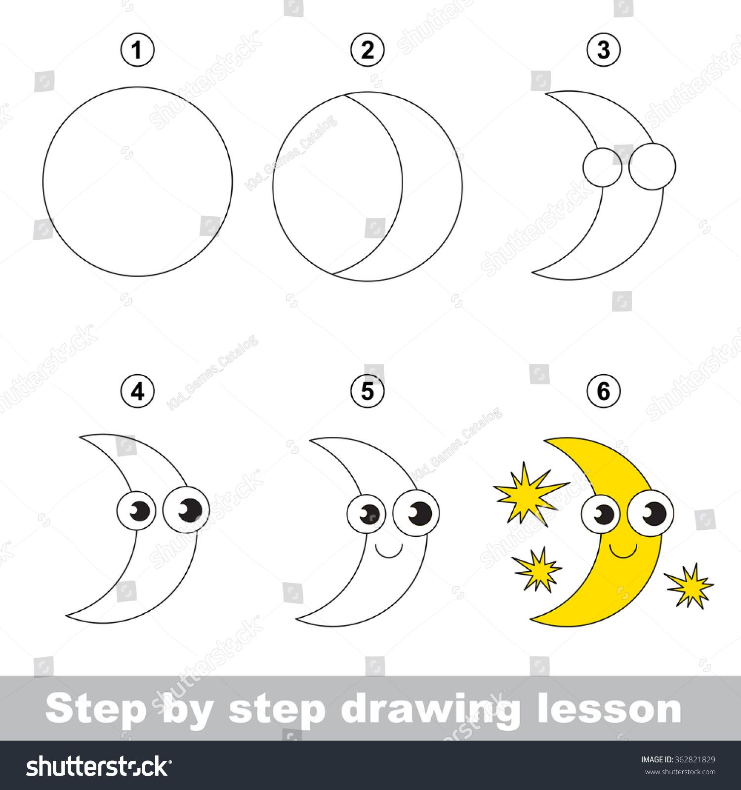 How To Draw A Full Moon F F Xyz 2019