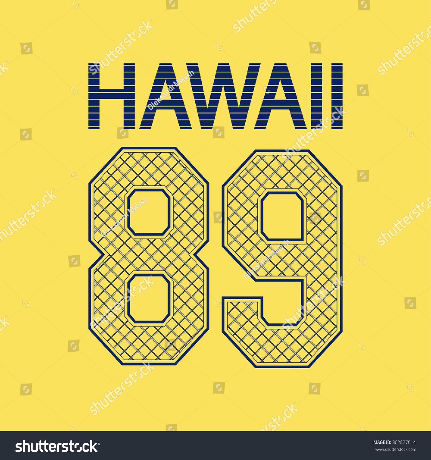 T shirt design hawaii - Hawaii Beach Typography T Shirt Design