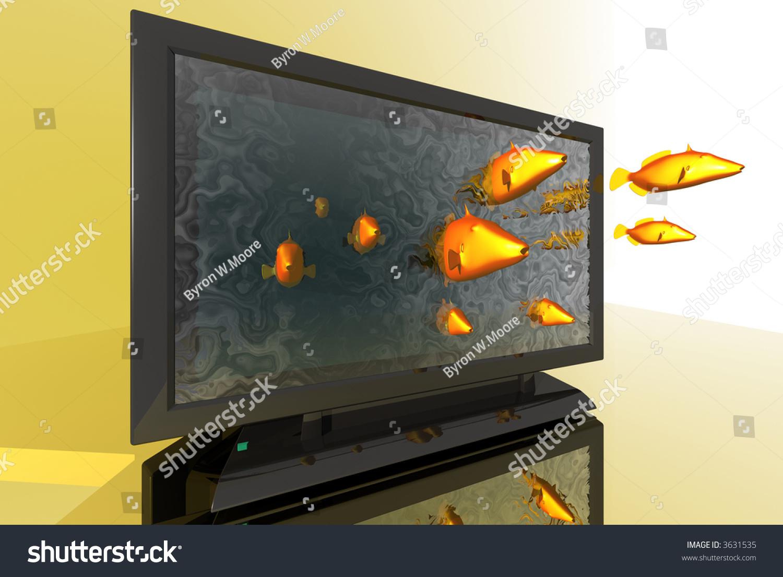 3d tv in fish - photo #26
