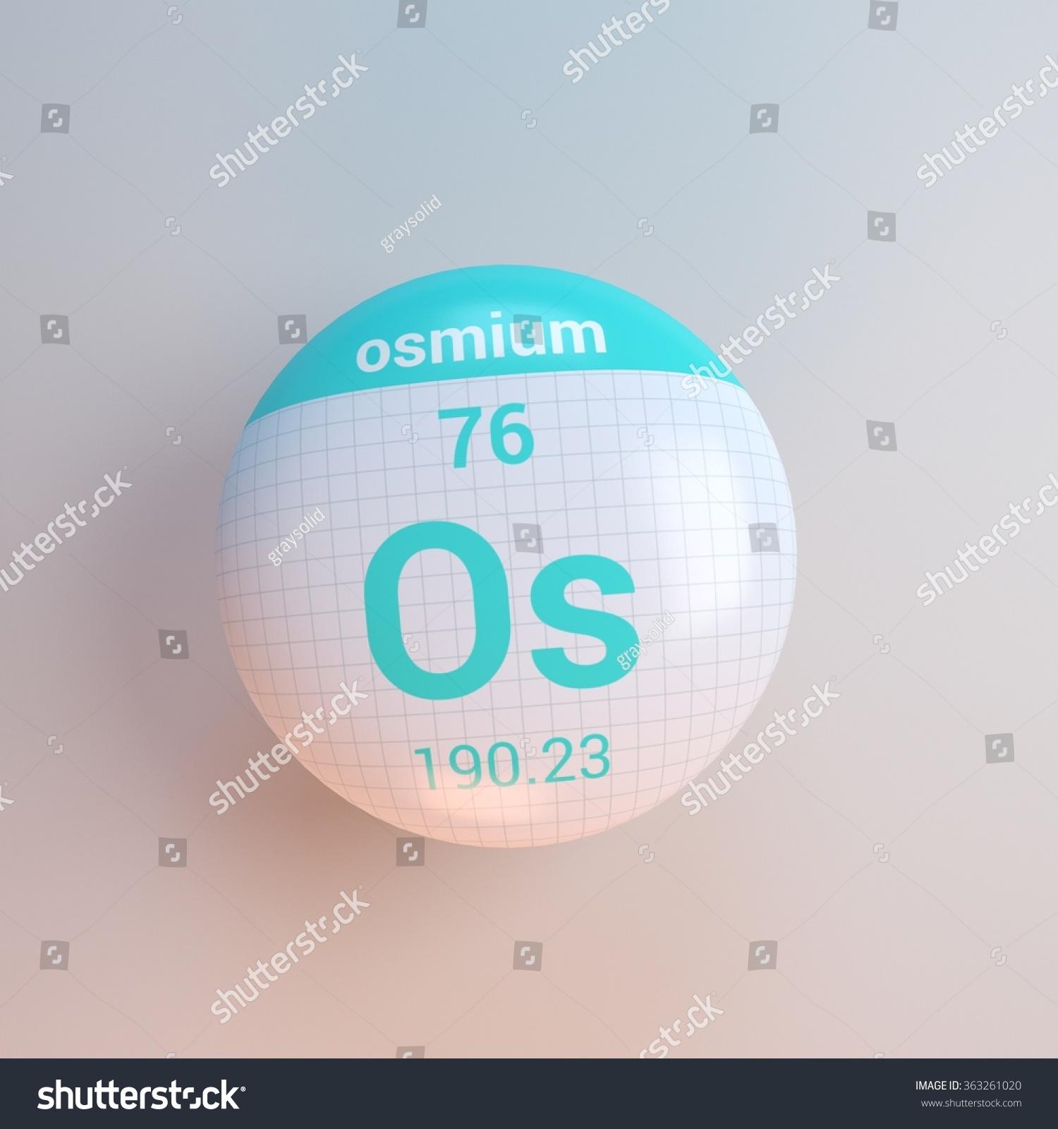 Periodic table elements osmium stock illustration 363261020 periodic table of elements osmium urtaz Images